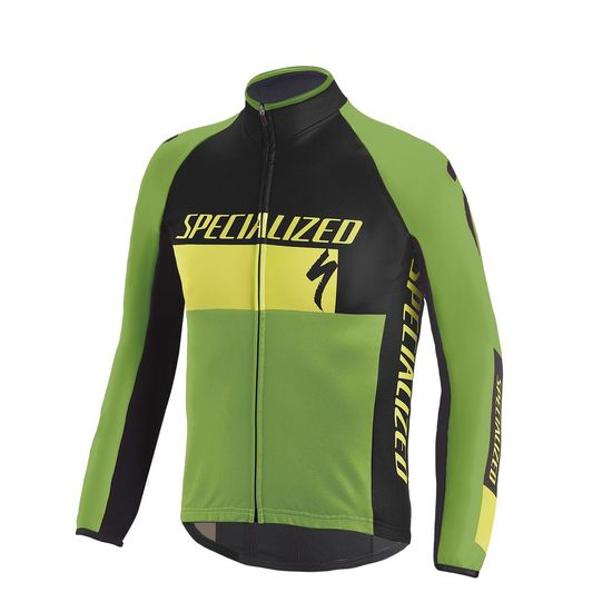 2017 Giubbino Specialized Element RBX Comp Logo - Giallo Per Bambino